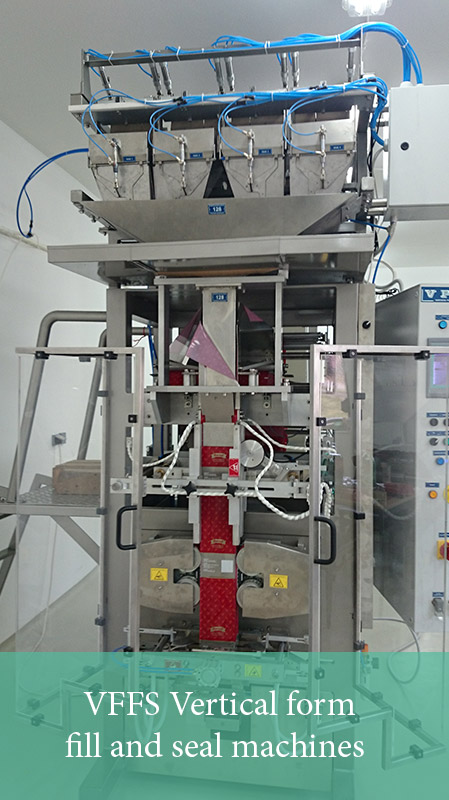 VFFS Vertical form fill and seal machines